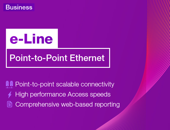 e-Line: Point to Point Ethernet mobile banner