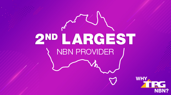 TPG group 2nd largest NBN provider in Australia
