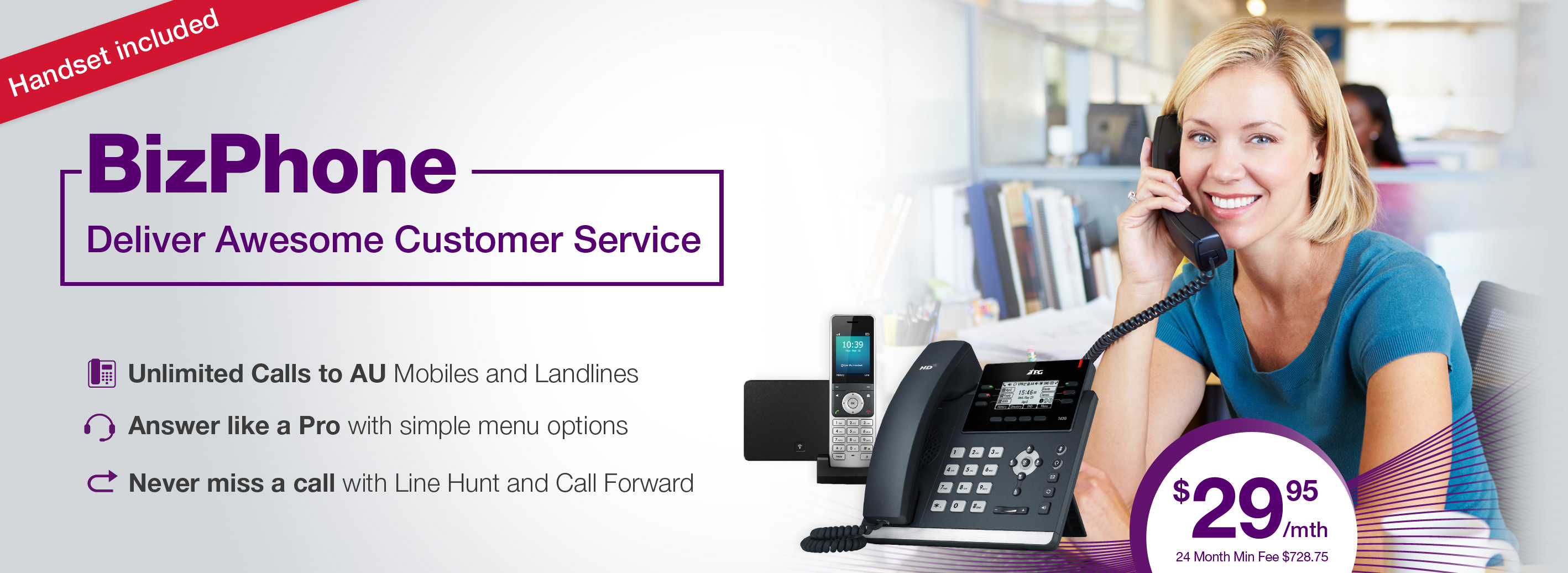 TPG Bizphone | VoiP for Business with Included Calls